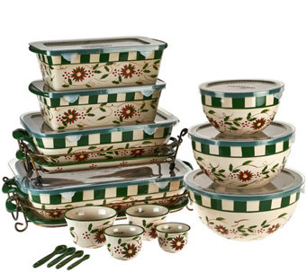 Temp-tations Old World 20-piece Bakeware Set - K42700
