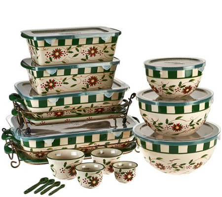 Temp-tations Old World 20-piece Bakeware Set