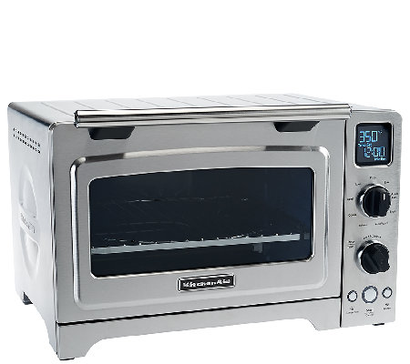 "KitchenAid 12"" Digital Convection Oven with Removable Racks"