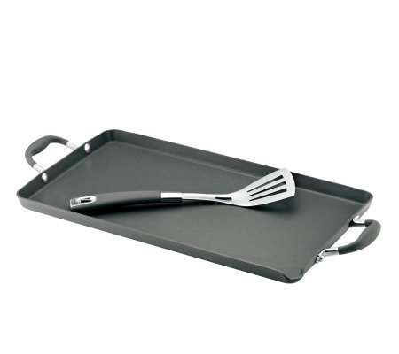 "Anolon Advanced 18"" x 10"" Double Burner Griddle"