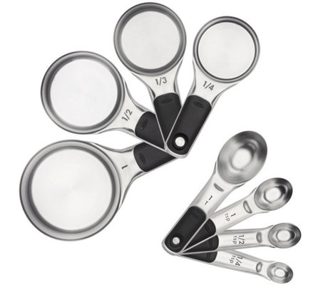 OXO Good Grips 8-Piece Measuring Cups & Spoons Set