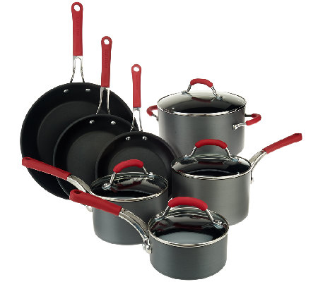 Farberware Millennium 11-Piece Hard Anodized Cookware Set