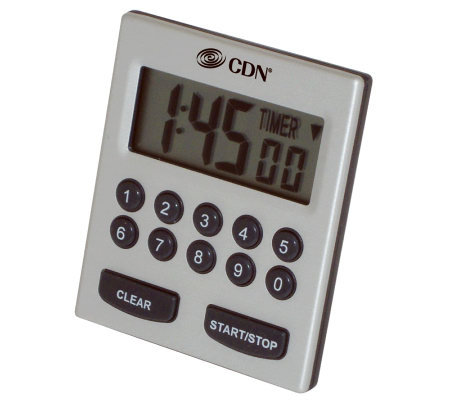 CDN Direct Entry 2-Alarm Timer TM30