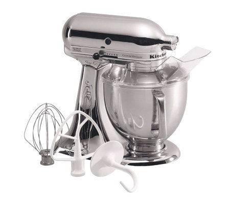 KitchenAid 5-Qt Metallic Series Stand Mixer - Brushed Nickel