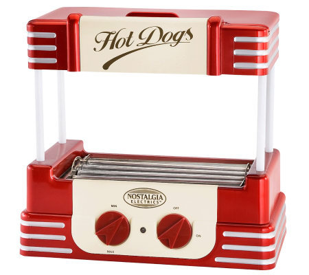 Nostalgia Electrics RHD-800 Retro Series Hot Dog Roller
