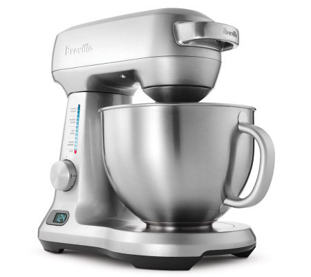 Breville Five-Quart Die-Cast Stand Mixer