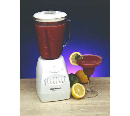 Corningware 14 Speed Blender with Glass Jar