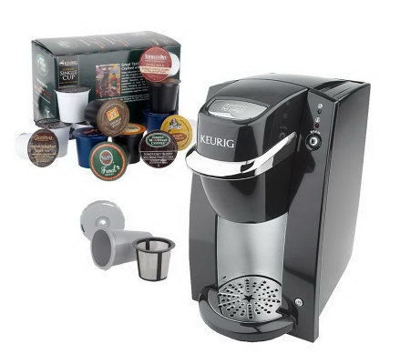 Keurig Personal Mini Brewer w/28 K-Cups & My K-Cup Filter