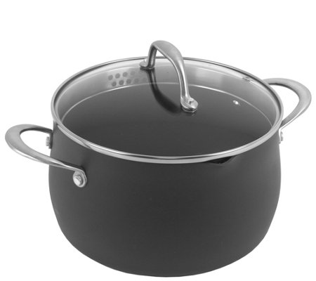 Oneida Hard-Anodized Aluminum 5-Qt Covered Dutch Oven - Gray
