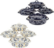 Temp-tations Old World or Floral Lace 8-pc Cookware Set