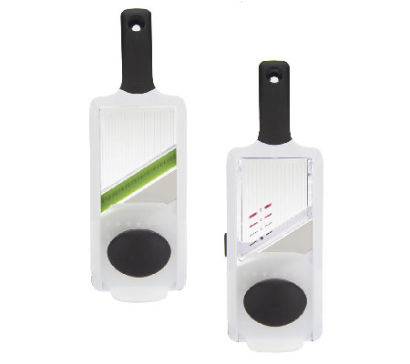 OXO Good Grips Hand-Held Mandoline and Julienne Slicer Set