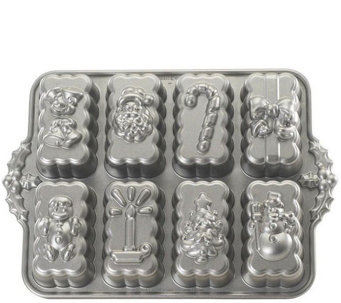Nordic Ware Holiday Mini Loaf Pan - K305705