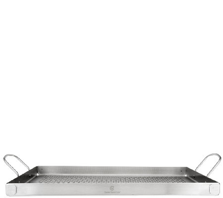 "Cook's Essentials Stainless Steel 16"" x 12"" BBQ Grill Tray"