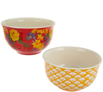Pioneer Woman Garden Meadow 2-piece Nesting Bowl Set - K44305