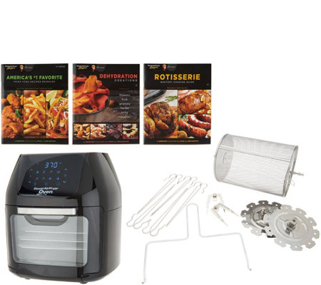 Power Air Fryer 6 Qt Oven W 8 Presets Books
