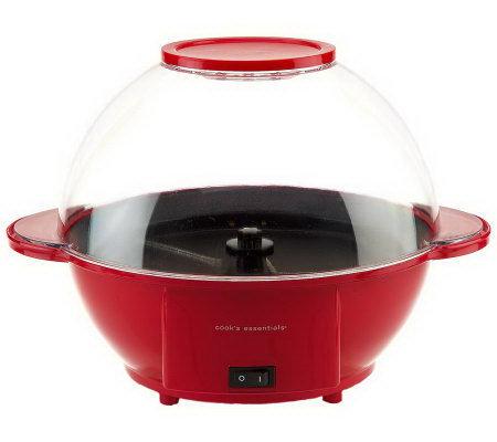 CooksEssentials 6 qt. Popcorn Maker with Automatic Stir Function