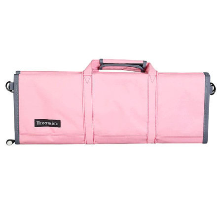Messermeister 12-Pocket Pink Lady Knife Roll