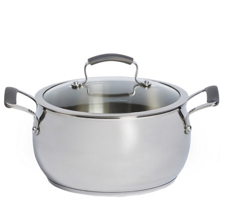 Epicurious Stainless Steel 6-qt Covered Chili Pot