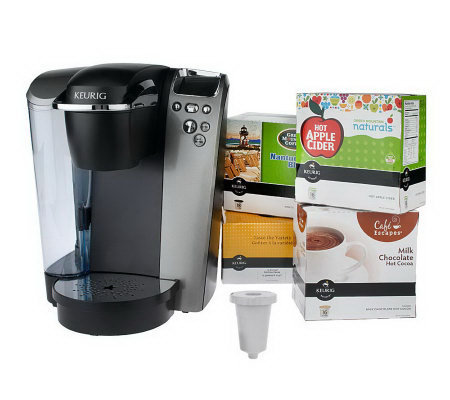 Keurig Platinum Plus Series Brewer w/ 62 K-Cups & My K-Cup
