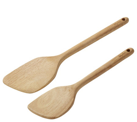 Ayesha Curry 2-Piece Parawood Saute Pan Paddle Set