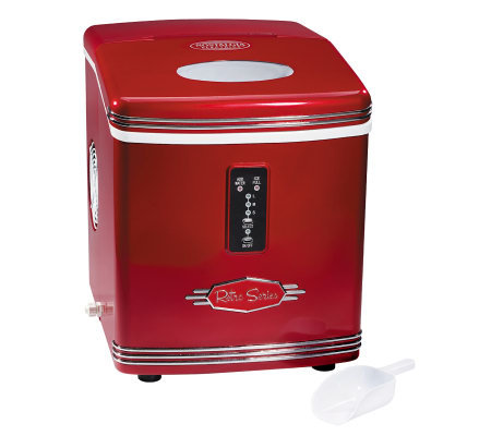 Nostalgia Electrics RIC-100 Retro Series Ice Maker