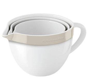 KitchenAid 3-Piece Ceramic Mixing Bowl Set - K305808