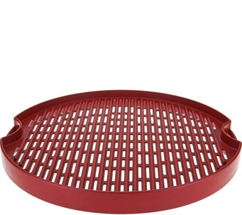 "CooksEssentials 15"" Reversible Cast Aluminum BBQ Grill Pan - K44208"
