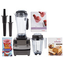 Vitamix Turbo Blend 16-in-1 64oz 2-Speed Blender w/ 32oz Dry Container - K47408