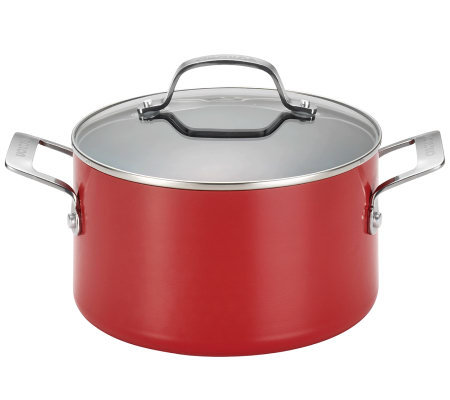 Circulon Genesis Aluminum 4.5-qt Covered DutchOven