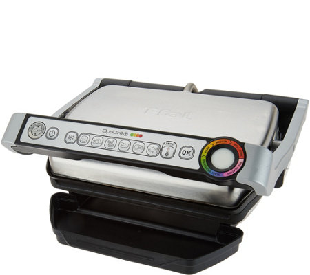 T fal optigrill plus indoor electric grill - T fal optigrill indoor electric grill ...