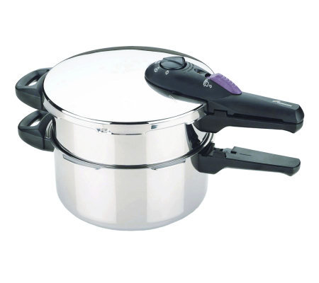 Fagor Splendid 2x1 8 & 4 qt Multipressure Cooker Set