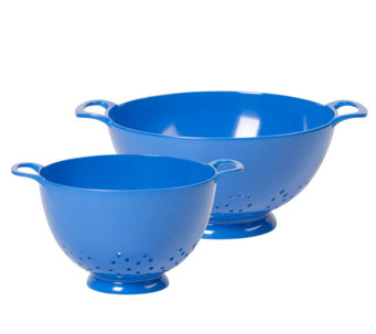 Bella Set of Two Melamine Colanders - K303310