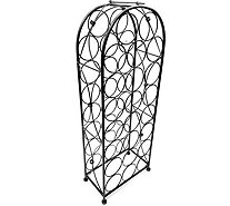Sorbus French-Style Chateau 23-Bottle Wine Rack - K306110
