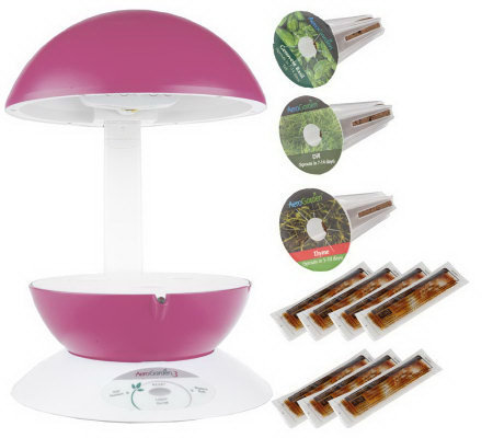 AeroGarden 3 Pod Kitchen Garden w/Garden Shears & Seed Kit