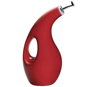 Rachael Ray Stoneware EVOO Dispensing Bottle -Red - K131211