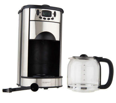 Technique Programmable 10-Cup Coffee Maker with Grinder