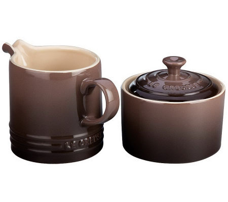 Le Creuset 8-oz Cream and Sugar Set