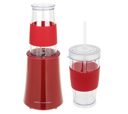 """As Is"" Cooks Essentials 200 Watt Smoothie Maker w/ Tumblers"