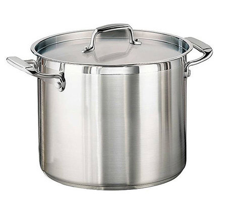 Tramontina 12-qt Pro. Covered Stock Pot with Stinless Lid