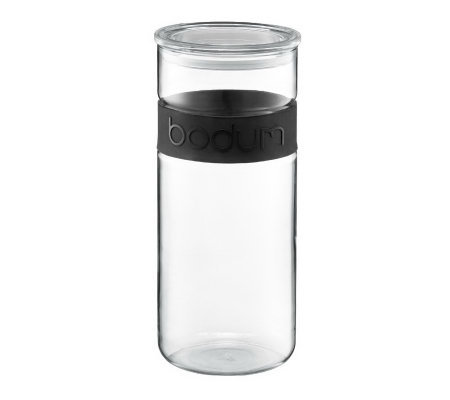 Bodum Presso Glass Storage Jar, 68 oz