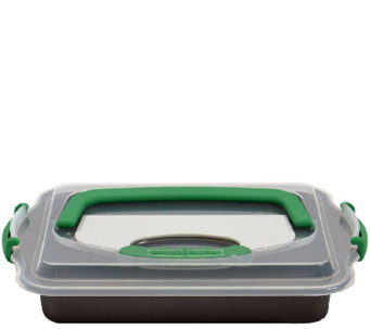 BergHOFF Perfect Slice Covered Baking Pan withCutting Tool - K304312