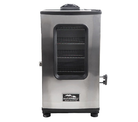 Masterbuilt 4 Rack Digital Electric Smoker w/Remote, Cover & Window
