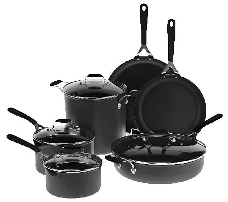 Emeril by All Clad 10-Piece Hard Anodized Cookware Set