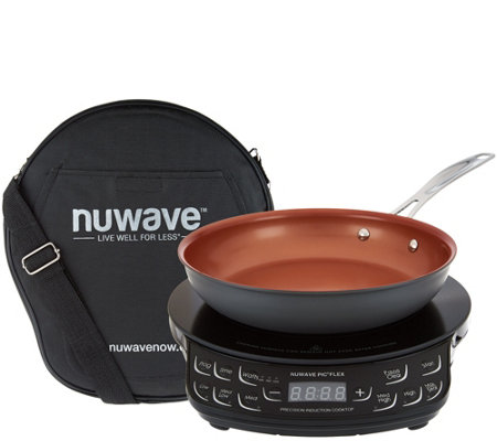 "Nuwave Precision Induction Cooktop Flex w/ 9"" Pan & Bag"