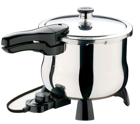 Presto 6 quart stainless steel electric pressure cooker for Electric pressure cooker fish recipes