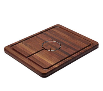 Snow River Gripper Walnut Wood Carving Board - K302713