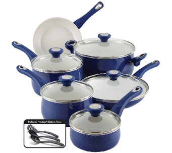 Farberware New Traditions Speckled 14-Piece Cookware Set - K303913
