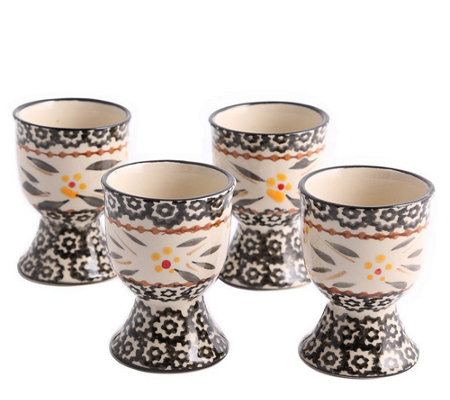Temp-tations Set of 4 Old World Egg Cups