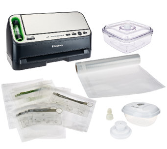 Foodsaver 2 in 1 Food Preservation System w/ Accessory Kit - K42113