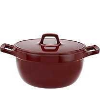 T-Fal Simmer & Stew Cast Aluminum 5qt Dutch Oven with Recipes - K44714